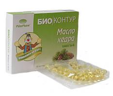 Масло кедра Омега-6 от БиоКонтур™, 60 капсул