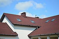 Краска-мастика кровельная для изоляции крыш из бетона, рубероида, асбеста, металла и черепицы
