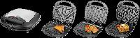 Тостер 700Вт ECG S 299 Black