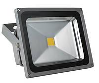 Прожектор светодиодный LL-221 1LED 20W белый 6400K 230V (185*156*105mm) Серебро IP65