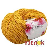 Nako Fiore №11243 темно желтый