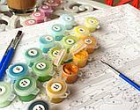 Картина за номерами Brushme 40х50 Кошеня з клубком (GX23633), фото 2