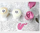 Картина за номерами Brushme 40х50 Кошеня з клубком (GX23633), фото 5