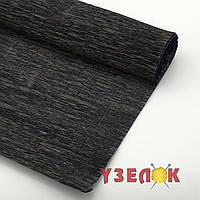 Бумага гофрированная (цвет:37, черный) цена за рулон