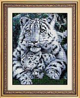 Набор алмазной живописи - №30049 Белые тигры