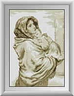 Набор алмазной живописи - №30305 Мадонна с младенцем