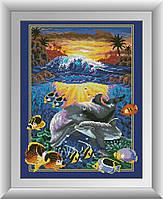 Набор алмазной живописи - №30205 Подводный мир