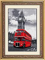 Набор алмазной живописи - №30024 Лондонский автобус
