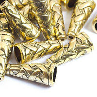 Шапочки (B-00821) 8х18мм, Античное Золото(УТ0029173)