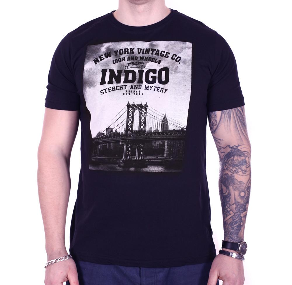 Футболка StrongMan Indigo f0318/5 Темно-синяя XXL