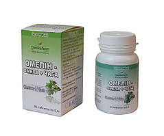 БАД Омелин — Омела+Чага профилактика новообразований 90 таблеток