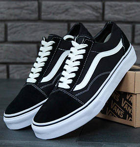 Кеды Vans Old Skool Black (ванс олд скул черные)