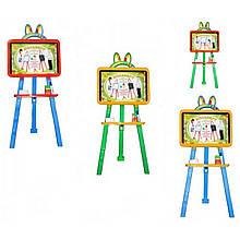 Мольберт детский напольный двухсторонний TM Doloni Toys 013777