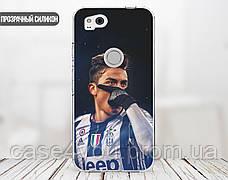 Силиконовый чехол для Huawei Honor 8 (Paulo Dybala), фото 3