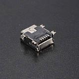 !РАСПРОДАЖА Адаптер разъём 103 гнездо USB mini мини под пайку для планшета телефона GPS навигатора, фото 5