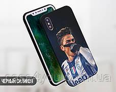 Силиконовый чехол для Samsung G610 Galaxy J7 Prime (Paulo Dybala), фото 2