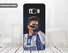 Силиконовый чехол для Samsung G610 Galaxy J7 Prime (Paulo Dybala), фото 3