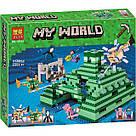 """Конструктор Bela 10734 Minecraft """"Подводная крепость"""" 1134 детали, фото 5"""
