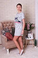Платье -  туника женское летнее  для дома Nicoletta, фото 1