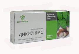 Дикий Ямс БАД для нормализации женского цикла и уровня гормонов 30 таблеток Элит Фарм