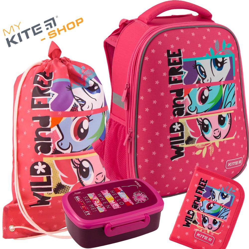 5afd44f7be9f Рюкзак школьный Kite Education My Little Pony LP19-531M Комплект 4 в 1 -  Mykite