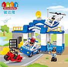 """Конструктор детский JDLT 5135 аналог Lego Duplo """"Полицейский участок"""" со звуком и светом 68 деталей, фото 2"""