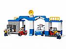 """Конструктор детский JDLT 5135 аналог Lego Duplo """"Полицейский участок"""" со звуком и светом 68 деталей, фото 4"""