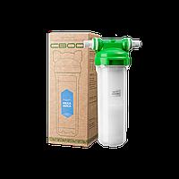 """Корпус магистрального фильтра для холодной воды 10"""" с картриджем механической очистки (Smart-подключение)"""