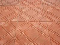 Плитка тротуарная полимерпесчаная Паутинка, Калифорния и Гладкая