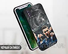 Силиконовый чехол для Samsung J810 Galaxy J8 (2018) (Ronaldo), фото 2
