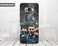 Силиконовый чехол для Samsung J810 Galaxy J8 (2018) (Ronaldo), фото 3