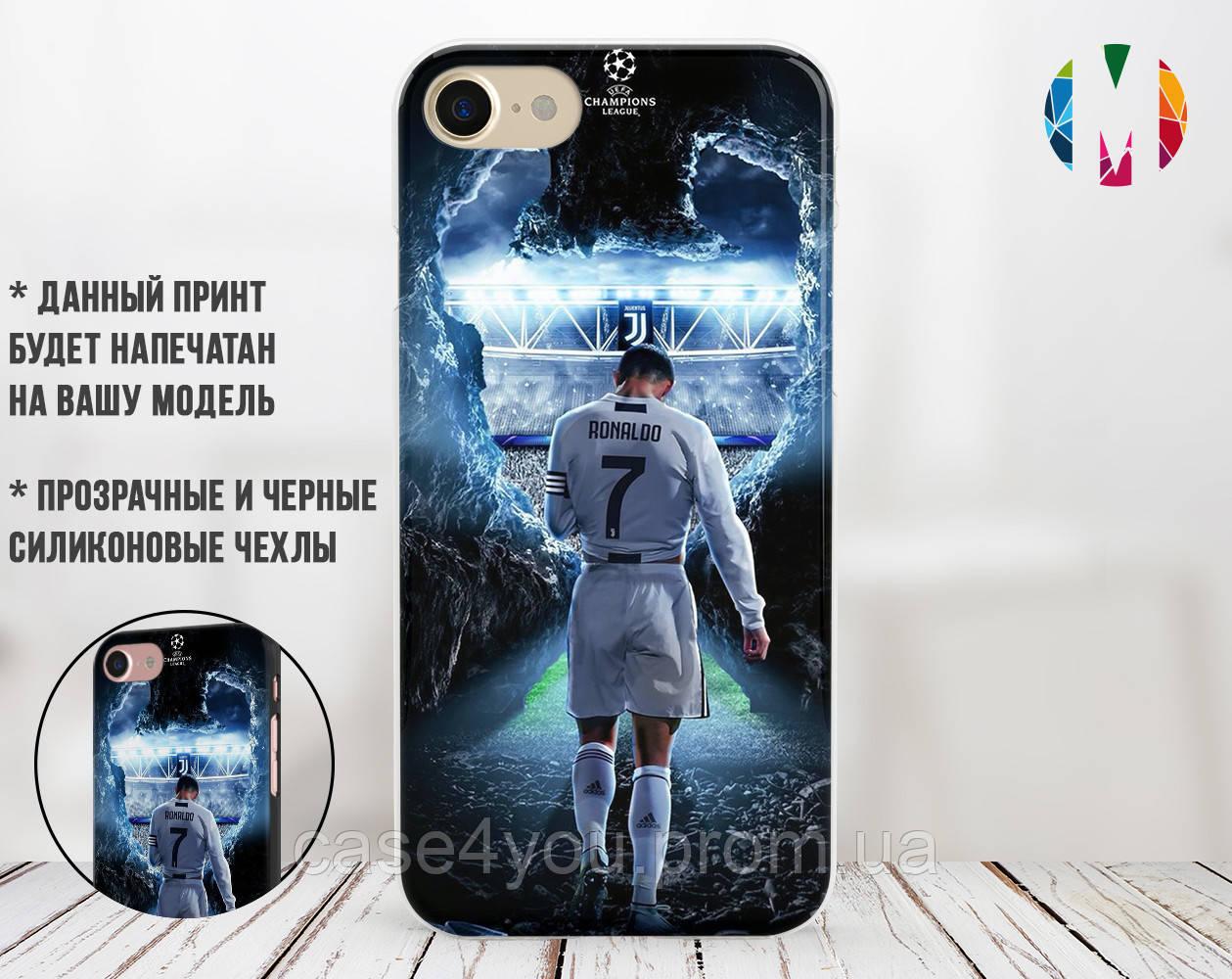 Силиконовый чехол для Apple Iphone 7 (Ronaldo 1)