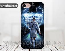 Силиконовый чехол для Apple Iphone 7 plus (Ronaldo 1), фото 2