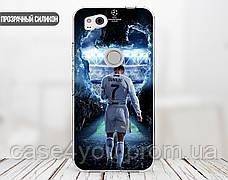Силиконовый чехол для Huawei Honor 7x (Ronaldo 1), фото 3