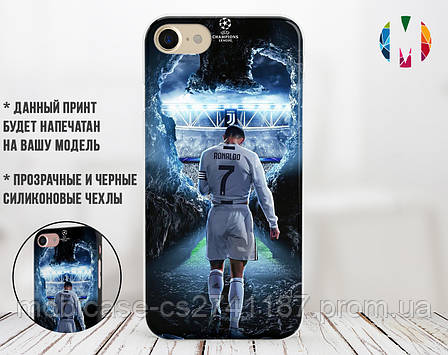 Силиконовый чехол для Samsung A750 Galaxy A7 (2018) (Ronaldo 1), фото 2