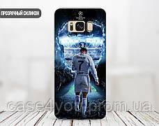 Силиконовый чехол для Samsung J320H Galaxy J3 (2016) (Ronaldo 1), фото 3