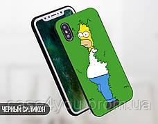 Силиконовый чехол для Huawei P smart Plus (Simpson), фото 2