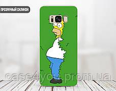 Силиконовый чехол для Huawei P smart Plus (Simpson), фото 3