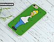 Силиконовый чехол для Huawei Y7 (Simpson), фото 4