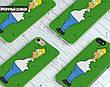Силиконовый чехол для Meizu M5 (Simpson), фото 5