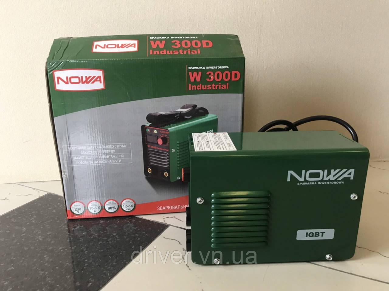 Зварювальний апарат (інвертор) 5.2 кВт Nowa W300D