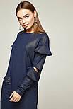 2263 платье Шана, синий блеск (S), фото 3