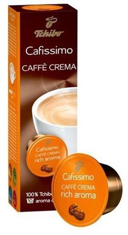 Кофе в капсулах Tchibo Caffitaly Cafissimo Caffe Crema Rich Aroma 10 шт., Германия