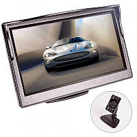 """Автомобильный монитор для камеры заднего вида Podofo XSP-04, 5"""" дюймов, на стойке"""