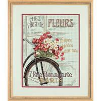 """Набор для вышивания крестом """"Парижский велосипед//Parisian Bicycle"""""""