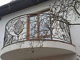Кованый балкон. Ограждение балкона., фото 2