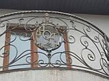 Кованый балкон. Ограждение балкона., фото 3