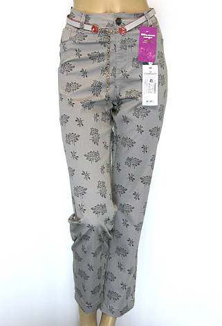 Жіночі літні джинси штани великого розміру Esperanto, фото 2