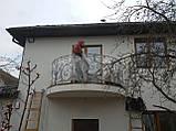 Кованый балкон. Ограждение балкона., фото 6