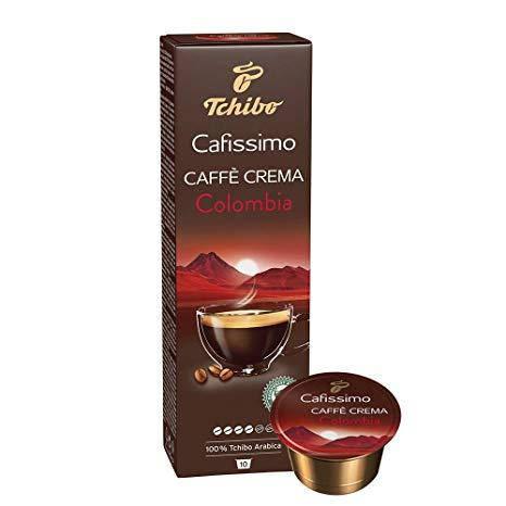 Кофе в капсулах Tchibo Caffitaly Cafissimo Caffe Crema Columbia 10 шт.(4), Германия